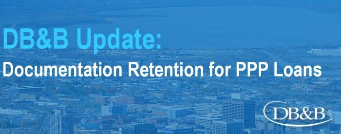 Documentation Retention for PPP Loans