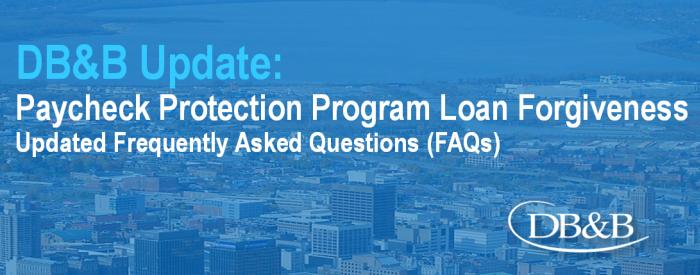 Paycheck Protection Program Loan Forgiveness
